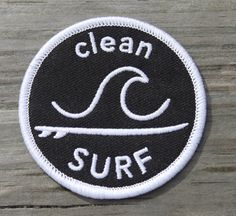 """Our logo patches are 2.5"""" in diameter and have an iron-on adhesive backing."""