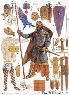 Historical Warrior Illustration Series Part V