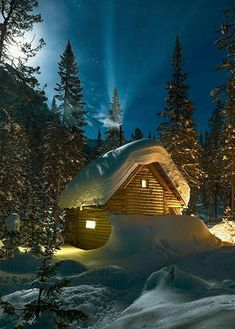 New winter landscape photography cabin 35 Ideas Winter Szenen, Winter Cabin, Winter Christmas, Winter Night, Winter Photography, Landscape Photography, Nature Photography, Beautiful Places, Beautiful Pictures