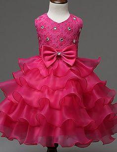 Baby Girl Dress New Baby Summer Dress Bow decoration Sweet cute Princess Dress Baby Summer Dresses, Little Girl Dresses, Baby Dress, Girls Dresses, Bride Dresses, Summer Baby, Dresses Uk, Summer Girls, Flower Girls