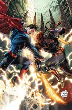 Superman VS deathstroke