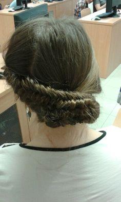Hair fish-bun beauty!