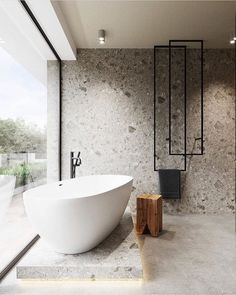 Bathroom suggestions, bathroom remodel, master bathroom decor and bathroom organization! Bathrooms could be beautiful too! From claw-foot tubs to shiny fixtures, they are the bathroom that inspire me the essential. Minimalist Bathroom Design, Bathroom Design Luxury, Luxury Bathrooms, Master Bathrooms, Minimal Bathroom, Modern Bathrooms, Beautiful Bathrooms, Farmhouse Bathrooms, Modern Farmhouse
