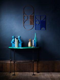 Matthew Williamson for Duresta bespoke furniture range - peacock table