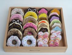 "Felt food. What a great gift for a kid! Maybe this should go on the ""keeping it off"" board since they are calorie free."