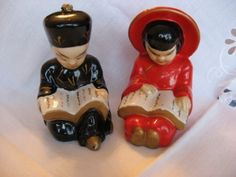 Oriental Man and Woman...I have the man figurine...but not the woman.