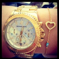 I want the watch & the bracelet!