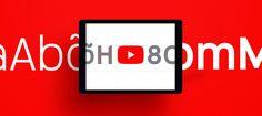 En lo más fffres.co: Youtube Sans, la tipografía que acompaña a Youtube TV como elemento de diferenciación: Youtube, la… #Tipografía