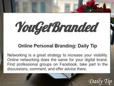 Feel Confident Online With Your Personal Branding Marketing Topics, Social Media Marketing, Digital Marketing, Professional Group, Reputation Management, Social Media Pages, It Network, New Relationships, New Job