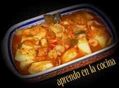 La receta original es de mi compañera y amiga del foro NANA  .  La verdad que en casa he hecho la receta unas cuantas veces, he modificado a...