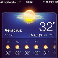 Que #calor se siente en #Veracruz nos cocinamos poco a poco http://www.facebook.com/turismoenveracruzaventura #megusta #clima #Mexico