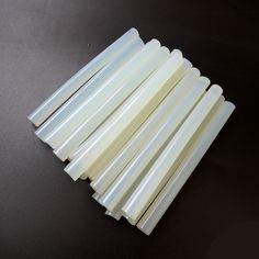 Pas cher 20 Pcs/Lot 11mm X 130mm Effacer Colle Adhésive Sticks pour Hot Melt…