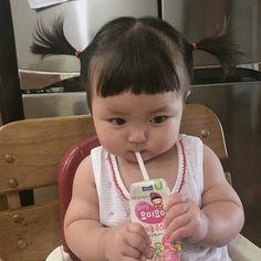 Cute Asian Babies, Korean Babies, Asian Kids, Cute Babies, Cute Baby Girl Pictures, Cute Cartoon Pictures, Baby Photos, Cute Little Baby, Little Babies
