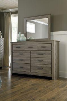 B248 31 | Signature By Ashley Zelen Dresser Warm Gray | Big Sandy  Superstores |. Bedroom FurnitureDressersWarm