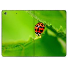 IPad Mini Retina Ladybug On A Green Leaf Folio Leather Case