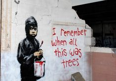 I Remember When, Banksy, Reusable Tote Bags