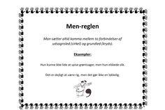 Kommaregler - plakater til ophæng - Bubbleminds Words, School, Mary, Grammar, Trier, Schools, Horses