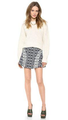 10 Crosby Derek Lam Flare Skirt