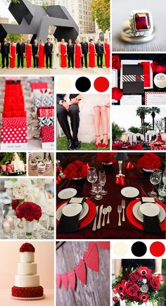 Red, Black & White wedding theme! What an amazing combination! If your not sure which location, accommodation and activity combination you would like for you hen party call 01773766051 or visit www.henweekends.net
