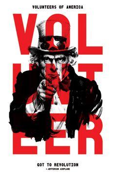 Volunteers For America Poster/Print