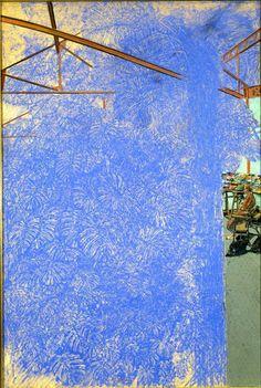 Sam Szafran sans titre, 1984 pastel, 120x80 cm