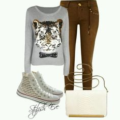 .Love the shoes and pants