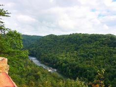 Gauley River from Carnifex Ferry Battlefield State Park