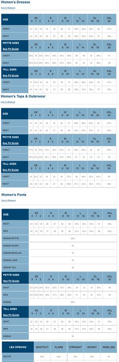 Alfani Woman Regular And Plus Size Charts Via Macys  Brand Name