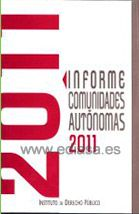 INFORME COMUNIDADES AUTÓNOMAS 2011.  Localización: 353/INF/inf