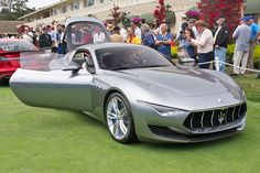 Named for one of the founding Maserati brothers, the Alfieri is a classically proportioned GT car that combines styling elements from current models like the GranTurismo with influences from the 1954 A6 GCS-53. Armed with a 4.7-liter V8 producing 460 horsepower, the Alfieri has been approved for production and may be ready as soon as 2016.