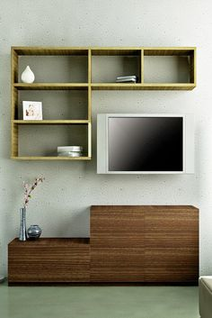 HomeLane: Full Home Interior Design Solutions, Get Instant Quotes. Wood Colors, Colours, Entertainment Units, Starling, Tv Unit, Home Interior Design, Shelves, House Design, Entertaining