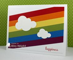 Rita's Creations: FMS94: Rainbow of Happiness