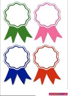 okul öncesi yaka kartı ile ilgili görsel sonucu Cute Kids Crafts, Preschool Crafts, Ribbon Png, Ribbons, Egypt Flag, School Border, Kids Awards, School Badges, Hebrew School