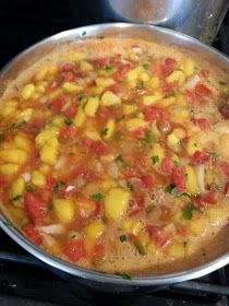 Salsa Canning Recipes, Canned Salsa Recipes, Peach Salsa Recipes, Rhubarb Jam Recipes, Chutney Recipes, Pineapple Salsa Canning Recipe, Canning Peach Salsa, Canning Peaches, Mango Pineapple Salsa