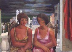 """""""Duas mulatas"""" (1962), por Emiliano Di Cavalcanti (Foto: reprodução)."""