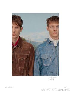 Nick Rupp y Mikhail Shmatov para Esquire UK por Jesse Laitinen