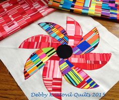 Debby Kratovil Quilts: Windham Wednesdays and Blazing Star Tutorial