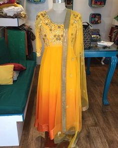 We have found the cutest boutique run by a mother-daughter duo - @ivorybazaarboutique .. They have an exquisite range of #anarkalis , #sarees and other stunning #indianwear .. This sunny side up outfit is one of our #favourite pieces .. Check em out - Insta : @ivorybazaarboutique ☎️: + 91-9527540114 📩: ivorybazaar.pune@gmail.com  Facebook : Link in Bio  #designer #boutique #indianwear #suits #lehengas #anarkalis #sarees #colors #designeroutfits #pretty #couture #bespoke #pret
