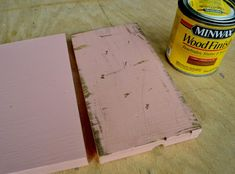 How To Paint Furniture | Vintage Distressed Pink using Minwax Stain | Ana White - Homemaker