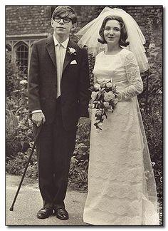 In case he's not recognized, Professor Stephen Hawking before Lou Gehrig's (ALS)...