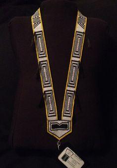 Ravens Tail Lanyard BadgeholderNecklace