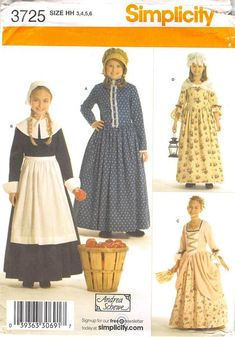 MCCALLS 3725 - FROM 2007 - UNCUT - CHILDS AND GIRLS COSTUMES