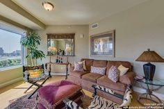 Beautifully appointed with stunning views of downtown San Antonio, Sunset Station and St. Paul Square.  West and South views.