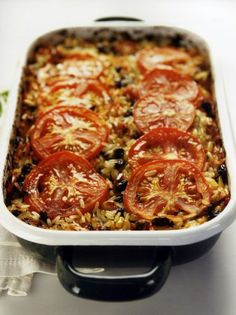 Just the stuffing, because some don't like the mushy… Different Recipes, Other Recipes, Side Dish Recipes, Greek Recipes, Vegan Recipes, Cooking Recipes, Cypriot Food, Low Sodium Recipes, Greek Cooking