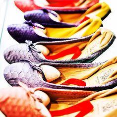 Ballerine in vera pelle di pitone - www.salamastra.com