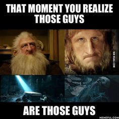 Tears. Tears everywhere. Reading the Lord Of The Rings books for the first time I cried so hard when they were at this part. Gandalf was gone and Balin Dwalin and Frodo was possibly dead and Bill had to leave I was just so done.