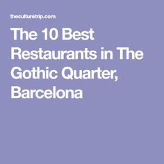 The Barcelona's Gothic Quarter offers various delightful, unique and varied restaurants in which to eat. Here you can read about 10 of the best. Tapas Dishes, Fish Dishes, Spanish Cuisine, Spanish Food, Gothic Quarter Barcelona, Barcelona Food, Beef Cheeks, Cruise Europe, Tapas Bar