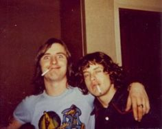 Angus Young and Phil Rudd, AC/DC