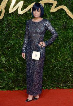Lily Allen aux British Fashion Awards 2015