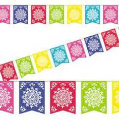 colorful mexican banners - Google Search